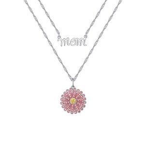 NEW Mom Believe x Brilliance Double Layer Necklace